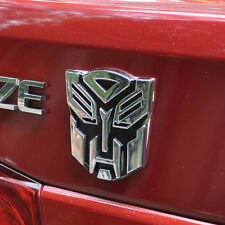 Autobot Transformers Emblem Badge 3D Logo Protector Graphics Decal Car Sticker