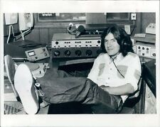 1977 WWRH Radio Deejay Trapper John 1970s Columbus Georgia Press Photo