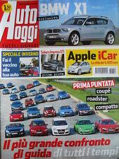 Auto Oggi n°50 2007 Subaru Impreza STi BMW X1 - BMW X6  [P45]