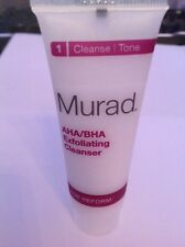 New Murad Age Reform AHA/BHA Exfoliating Cleanser 30ml travel size