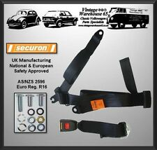 Volkswagen Transporter T5 Van Caravelle Rear Static Seatbelt Kit 200
