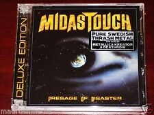 Midas Touch: Presage Of Disaster - Deluxe Edition 2 CD Set 2012 Divebomb NEW