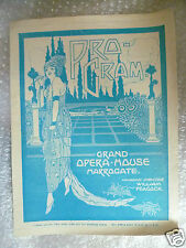 1929 Grand Opera House Programme THE HOUSE OF THE ARROW-Beckett Bould,B Robson