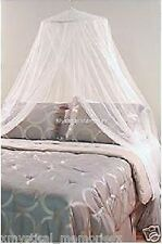 White Mosquito Net Bed Canopy Gorgeous NEW Fits all bed sizes up to King Size