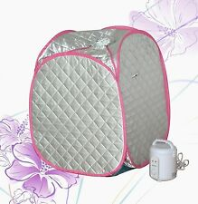 Portable steam sauna NIB. Slimming, detox and relax. Your own home spa.