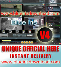 BlueIris Pro v4. (Latest) Video Camera Security Software - Full License Life