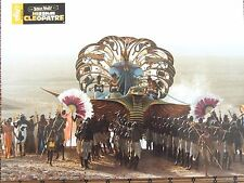 CHAR EGYPTIEN PHOTO EXPLOITATION LOBBY CARD ASTERIX ET OBELIX mission cleopatre