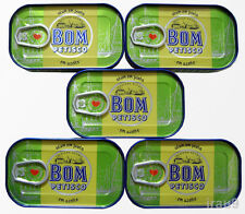 5 Cans Portuguese Solid Tuna Fish in Olive Oil 120g 4,23oz Rich in Omega 3, マグロ