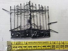 MINIATURA PRESEPE cancello FERRO 1pz MINUTERIE NATALIZIA  S.GREGORIO A. CRIB