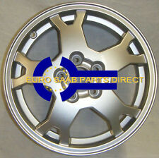 GENUINE SAAB ALLOY WHEEL SAAB 9-5 5 SPOKE SPLIT 6.5 X 16 400107025