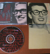 NOTE FADE AWAY (remembering Buddy Holly)- CD- (M.Knopfler/J:Ely etc..) 12 tracce