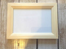 Pine photo frame unfinished paint yourself Crafting 5 x 7 Decorative frame