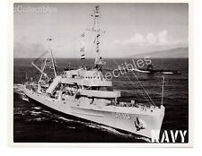 Historic US Navy Submarine Rescue Ship Greenlet  ASR-10 Official Photo 8x10