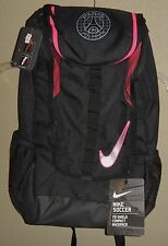 NWT NIKE SOCCER PSG PARIS SAINT-GERMAIN FB SHIELD COMPACT BACKPACK BLACK PINK