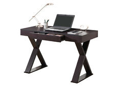 Techni Mobili Trendy Desk with Drawer Espresso- RTA-8406-ES Desks - Writing Desk