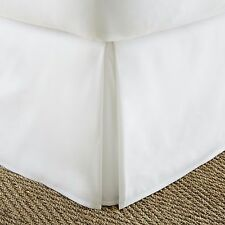 Ultra Plush Premium Pleated Bed Skirt Dust Ruffle by The Feathered Nest