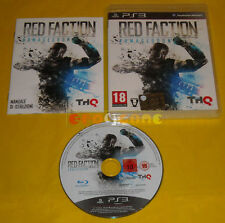 RED FACTION ARMAGEDDON Ps3 Versione Ufficiale Italiana 3 »»»»» COMPLETO