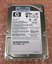HP 375696-001 DG036A8B53 36GB 10K RPM SAS Single Port Hot Plug Hard Drive