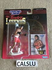1998 MUHAMMAD ALI / CASSIUS CLAY *RARE* TIMELESS LEGENDS STARTING LINEUP