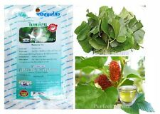 120 Tea Bags Herbal MULBERRY Leaf for Reduce Blood Sugar Cholesterol Weight Loss