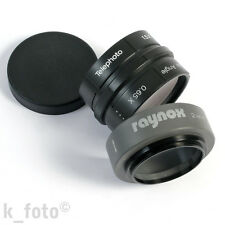 Raynox 2-in-1 Lens Model Flip-II * Conversion lens * Wide 0.65x Tele 1.5x