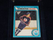 1979-80 O-PEE-CHEE OPC WAYNE GRETZKY ROOKIE RC CARD #18 1ST PRINT GREAT COLOR