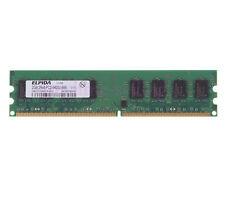 Elpida 2GB DDR2 2RX8 PC2-6400U 800MHz 240PIN DIMM RAM Desktop memory  for Intel