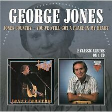 George Jones - Jones Country / You've Still Got a Place in My [New CD]