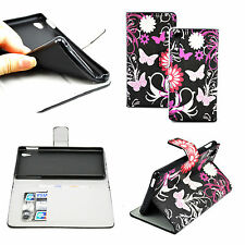 Amazing Wallet PU Leather Phone Case Cover Stand Skin For Sony Xperia M4 Aqua