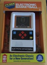 Electronic Basketball Handheld 70's Retro Game New In Box By Basic Fun