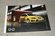 Seat Leon Brochure 2009 - Cupra FR Sport SE 2.0 TSI 2.0 TDI 1.9 TDI 1.4 1.6