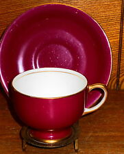 WORN Cup & Saucer - Radfords Bone China Fenton Stoke-On-Trent England