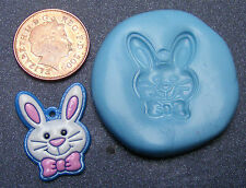 Reusable Rabbit Face Silicone Food Safe Mould, Mold, Sugarcraft, Jewellery, Cake