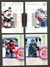 2004-05 SP Authentic Hockey Complete Set (1-150) - with all Sp's - Nmt