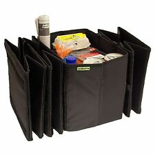 2IN1 Car Boot Storage Organiser Converts into Portable Shopping Bags 4 COMPARTME