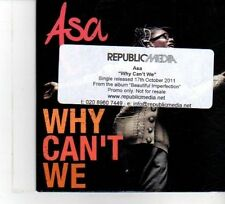 (DW392) Asa, Why Can't We - 2011 DJ CD