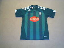 PLYMOUTH ARGYLE FC OFFICIAL ADIDAS 2010-11 GINSTERS HME SHIRT V RARE (XS) BNWOT
