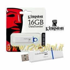 PENDRIVE DTIG4 KINGSTON 16 GB USB 3.0 PENNA ALTA VELOCITA ARCHIVIO DATI COMPUTER