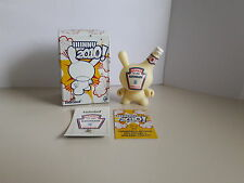 Kidrobot Dunny Series 2010 Mayonnaise Sket One (Golden Ticket)