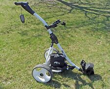 New Remote Controlled Electric Golf Caddy - WHITE