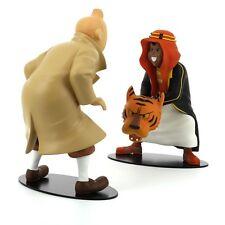 TIM & STRUPPI Tintin et Abdallah face à face Figur MOULINSART Limitiert NEU (L)