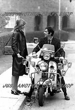 Quadrophenia Jimmy and Steph Lambretta Li150 Scooter Mod large size Poster