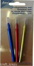 JOY CRAFTS FINE CRAFT PRICKING PEN SET OF THREE COURSE FINE & EXTRA 6200/0014