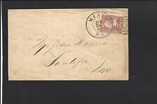MEXICO, MISSOURI COVER,1865. #65. TARGET CL. VF DCDS.  AUDRAIN 1837/OP