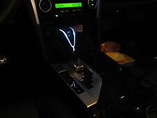 Toyota TUNDRA 07-13 LED shift gear knob chrome Automatic carbon look-white light