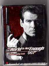 "James Bond ""The World is not Enough""  card set"