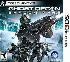 Nintendo 3DS Ghost Recon Shadow Wars Tom Clancy's *USED*