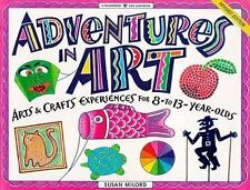 Adventures in Art for ages 8-13 year olds.
