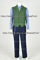 Dark Knight Rises Batman Joker Cosplay Costume vest shirt pants Halloween Party