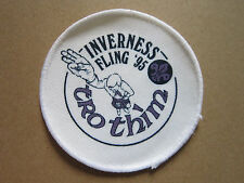 Inverness Fling '95 Cloth Patch Badge Boy Scouts Scouting